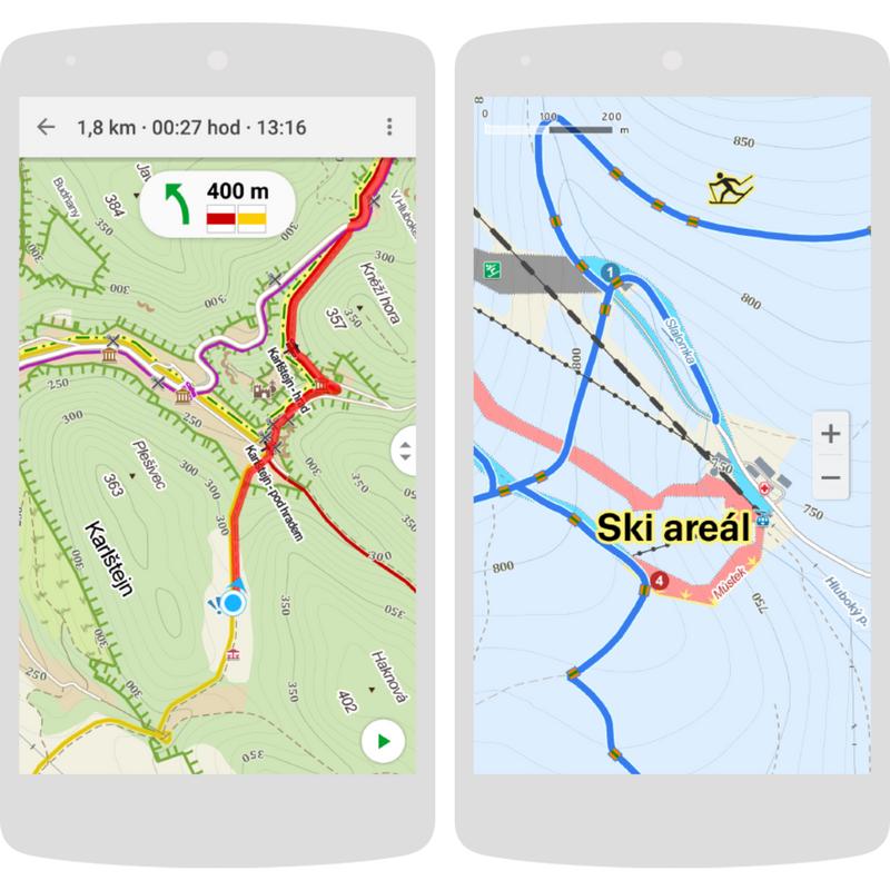 Mobilní aplikace, které na horách opravdu oceníte