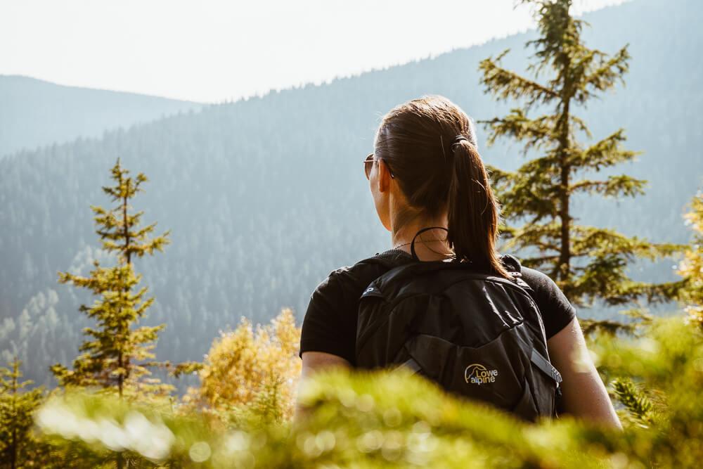 Podzim na horách aneb z trička do péřovky během dvou hodin