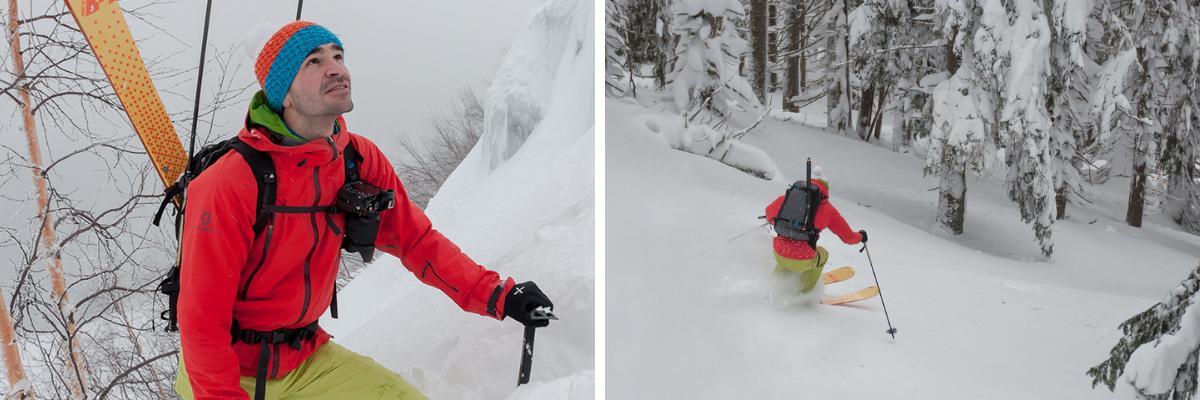 Pravý skialpinista: recenze batohu Lowe Alpine Descent